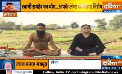 Try these yoga asanas by Swami Ramdev to deal with asthma and strengthen your lungs