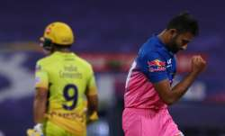 Live score Chennai Super Kings vs Rajasthan Royals IPL 2020: RR spinners restrict CSK to 125/5