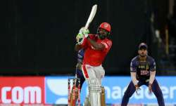 Live Score Kolkata Knight Riders vs Kings XI Punjab IPL 2020: Gayle keeps KXIP steady in 150 chase