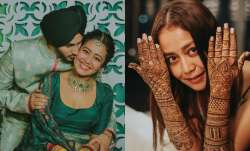 Neha Kakkar shares lovestruck photos from mehendi ceremony