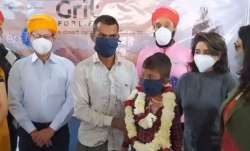 Grit for Life provides succour for young cancer patient in Barmer