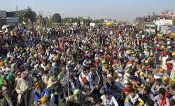 farmers protest live updates