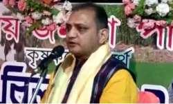 We will make Bengal police lick boots, says BJP leader Raju Banerjee