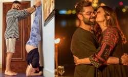 Pregnant Anushka Sharma continues doing Shirshasana with her 'very able husband' Virat Kohli's suppo