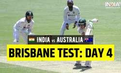 IND vs AUS 4th test Live Score 2021 Today, Ind vs Aus 4th