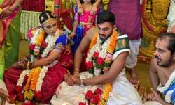 Vijay Shankar wedding
