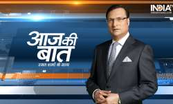 Aaj Ki Baat with Rajat Sharma