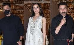 Bollywood celebs includingShraddha, Anil Kapoor,