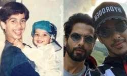 Ishaan Khatter shares 'THEN & NOW' photo to wish 'bade bhai' Shahid Kapoor