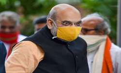 Amit Shah receives first shot of Covid-19 vaccine