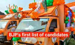 Bengal polls 2021, BJP, candidates list