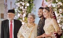 Gauahar Khan's father dies