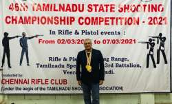 Thala Ajith wins gold at 46th Tamil Nadu State Shooting Championship Competition   WATCH
