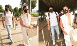 COVID recovered Alia Bhatt, Ranbir Kapoor head to Maldives for a beach vacation | PICS