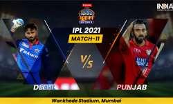 DC vs PBKS IPL 2021, Delhi Capitals vs Punjab Kings