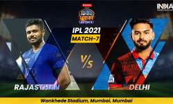 Live Cricket Score, IPL 2021, Match 7, RR vs DC: Follow Live score and updates from Mumbai