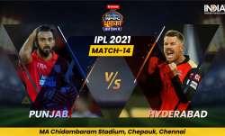 Live Score PBKS vs SRH IPL 2021 Match 14: Live Updates from Punjab Kings vs Sunrisers Hyderabad in C