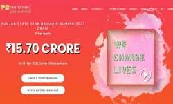 Punjab State Dear Baisakhi Bumper Lottery Result 2021