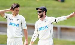 Trent Boult and Kane Williamson