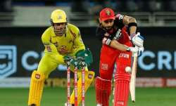 MS Dhoni and Virat Kohli, IPL 2021, RCB, CSK