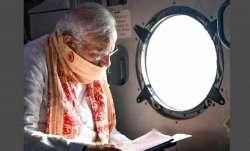 cyclone tauktae, pm modi, pm modi aerial survey, pm modi news, gujarat, diu, pm modi gujarat visit