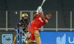 Pooran registered four ducks in IPL 2021, scoring only 28 runs in seven matches before the tournamen