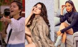 Shehnaaz Gill, Jasmin Bhasin, Rubina Dilaik