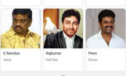 Google incorrectly identifies Dr Rajkumar as 'Half Boil' from Vijay Sethupathi's Vikram Vedha