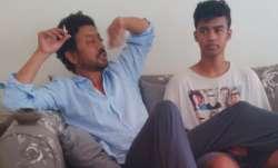 Irrfan and Babil Khan