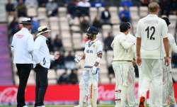 WTC Final: Kohli questions umpire's review for caught-behind despite no DRS signal from NZ