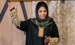 kashmir, mehbooba  mufti, pakistan talk
