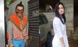 Ranveer Singh-Katrina Kaif visit Zoya Akhtar's house