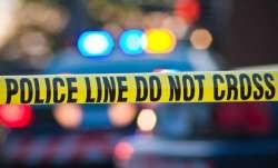 Following a brawl, a drunken youth smashed a glass pane