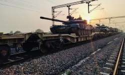 Indian Army conducted a successful trial by moving a