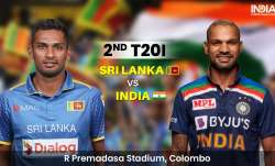 LIVE Cricket Score SL vs IND, 2nd T20I: Follow LIVE Updates from Colombo