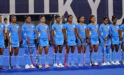 Indian women's hockey team