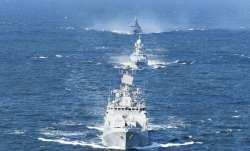 bilateral maritime exercise between Indian Navy & Russian Navy