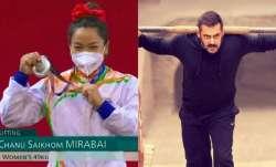 Salman Khan is Olympic silver medalist Mirabai Chanu's favorite actor