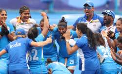 Wishes pour in as India women's hockey team beat Austraia 1-0 to reach first-ever Olympics semifinal
