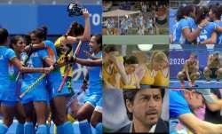 Twitterati reminded of SRK's Chak De India as women's hockey team reaches Tokyo Olympics semi-finals