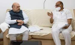 sharad pawar amit shah meeting, sharad pawar, amit shah sharad pawar, discussions sharad pawar amit
