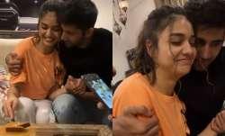 Bigg Boss OTT: Winner Divya Agarwal celebrates with boyfriend Varun Sood, Rannvijay Singha | VIDEOS