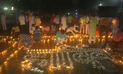 PM Modi's 71st Birthday: Varanasi people light 71,000