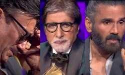 Amitabh Bachchan, SunielShetty, Jackie Shroff