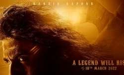 Poster of Shamshera featuring Ranbir Kapoor