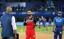 RCB vs MI IPL 2021 LIVE Toss updates