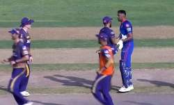 R Ashwin engage in a war of words with Eoin Morgan