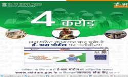 unorganised workers, unorganised workers registration, e Shram portal, latest national news updates,