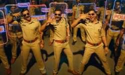Akshay Kumar, Ajay Devgn, Ranveer Singh in Aila Re Ailaa song