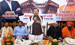 Uttar Pradesh Deputy Chief Minister KP Maurya, keshav prasad maurya, heritage hotel  opening, Ganga